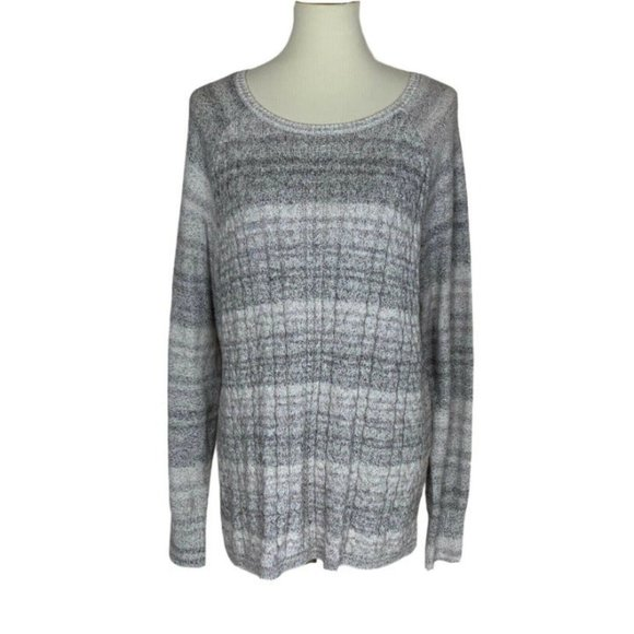 Sonoma Cotton Cable Knit Sweater XL